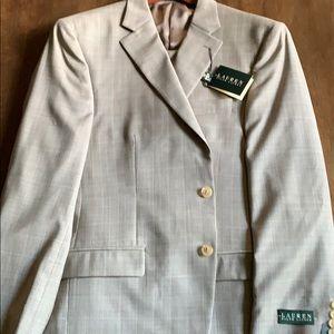 Lauren by Ralph Lauren Men's Suit NWT 42R HP🎉